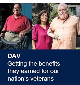 Helping Our Veterans – DAV – Disabled American Veterans